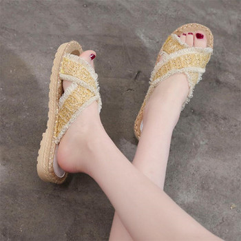 COOTELILI Women Summer Slippers shoes Woman Causal Slip on Flats Female Slides Women shoes Low Heels