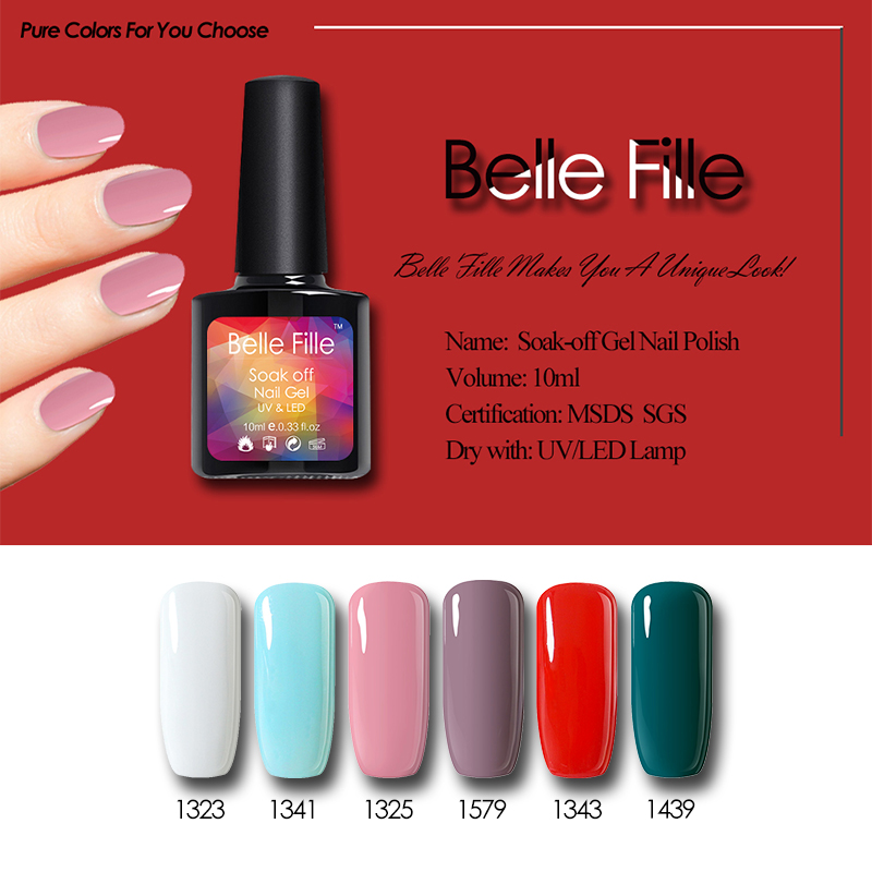 Belle Fille UV Gel Nail Polish Painting Gel Polish Nail Art Nail Gel ...
