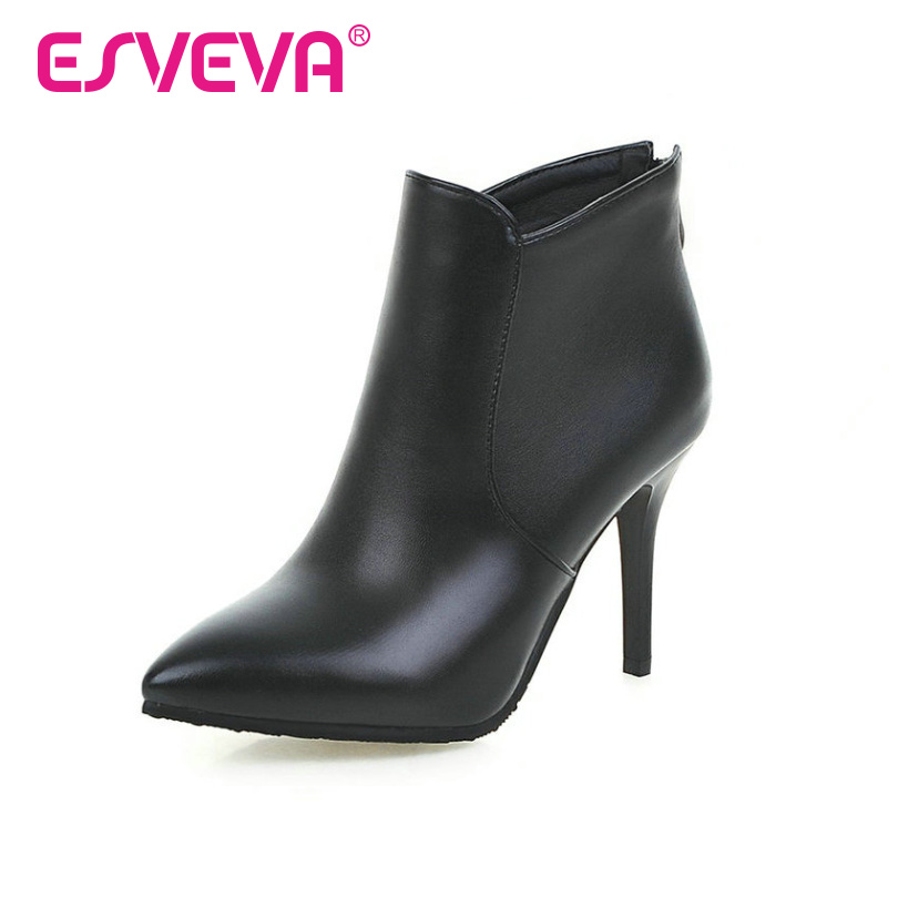 knee high boots size 14 pointed toe boots image