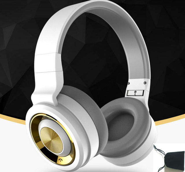 HBR LHB15 HIFI Bluetooth 4.1 Game Headset Stereo Headphone Exclusive Music Gaming Headset with Power Bass Headphone(Free bag)