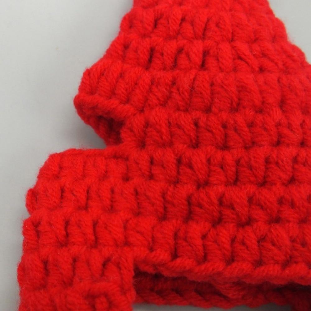 Aliexpress Buy Lovely Pet Cat Dog Santa Hat Adjustable Knitted