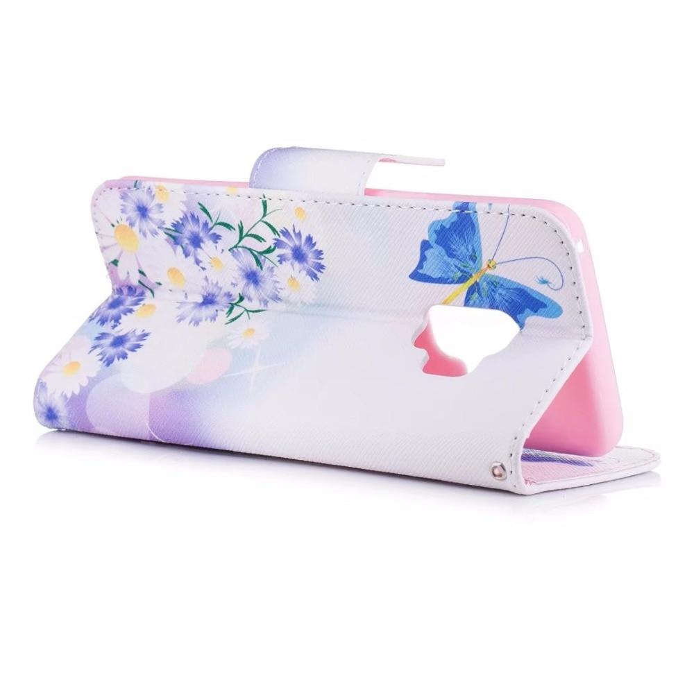 Untuk huawei honor 6x case magnetic balik dompet kulit painted case - Aksesori dan suku cadang ponsel - Foto 4