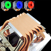 HUANANZHI X79 Dual Processor Motherboard Combo M.2 SSD Slot 2 Xeon E5 2670 6 Tubes CPU Coolers 4*16G 64G RAM RECC Build Computer 6
