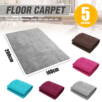 Fluffy Mats Kids Room Faux Fur Area Rug Mats For Bedroom Soft Shaggy Carpet For Living Room Home Warm Plush Floor Rugs 140X200CM