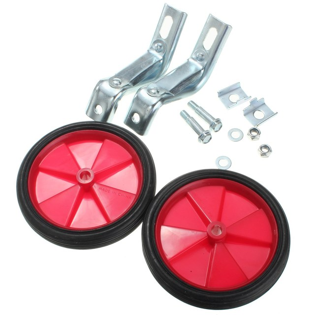 24df91c0f874a One Pair 12 Inch Kid Bikes Training Balance Help Wheels For Kids Cycling  Safe Bike Accessories