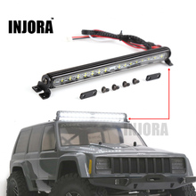 Trx4 Metal LED Roof Lamp Light Bar for 1/10 RC Crawler Traxxas Trx-4 Trx 4 SCX10 90027 & SCX10 II 90046 90047 RC4WD D90