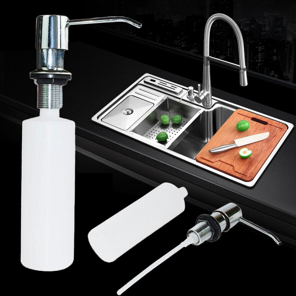 Новая кухня ванная комната Раковина Мыло Лосьон Диспенсер мыло диспенсер ABS бутылка лосьон Диспенсер домашнее улучшение Товары для ванной комнаты