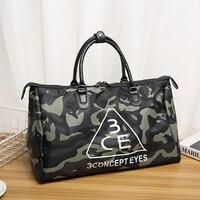 2018 Hot Sale Camouflage Oxford Big Travel Bag Large Capacity Famous Brand Handbags Tote Crossbody Duffle