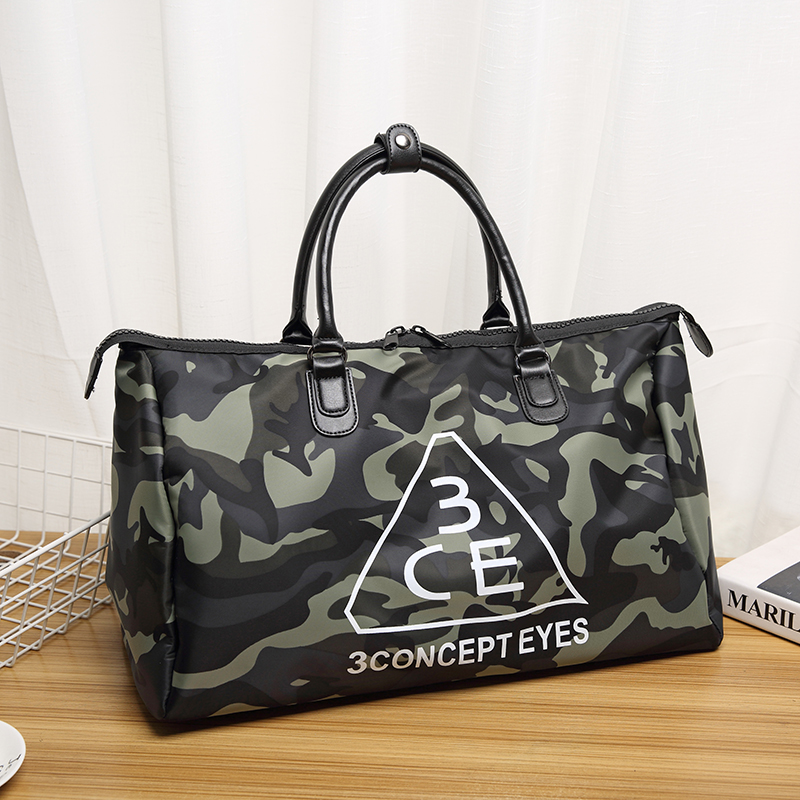2018 hot sale camouflage oxford big travel bag large capacity famous brand handbags tote crossbody duffle bag