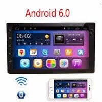 7 pollice capacitivo Full-touch screen Car GPS Nel Cruscotto di Navigazione GPS Tablet PC android 6.0 WIFI 3G radio auto No DVD Disco lettore
