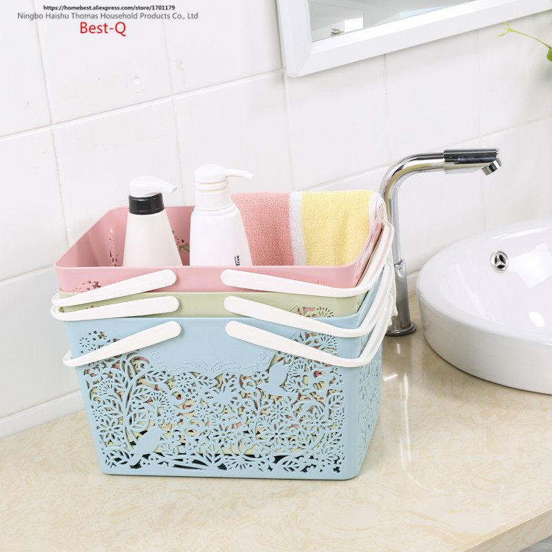 Aliexpress.com : Buy Free shipping Bath Basket, portable bathroom ...