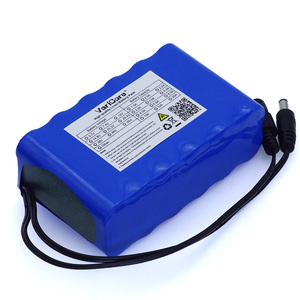 Image 4 - VariCore 12V 10Ah 18650 li lon battery pack 10000mAh with BMS Circuit Protection Board DC 5.5*2.1mm+ 12.6V 1A Charger