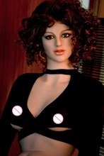 162cm European lifelike TPE Silicone Sex Doll,Full Size Silicone with skeleton Love Doll Big Breast Realistic vagina and Anus