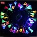 50LED Свадьба рождество Форме Сердца Дерево Фестиваль Строка Сказочных Огней Бесплатная Доставка свет Рождества батареи