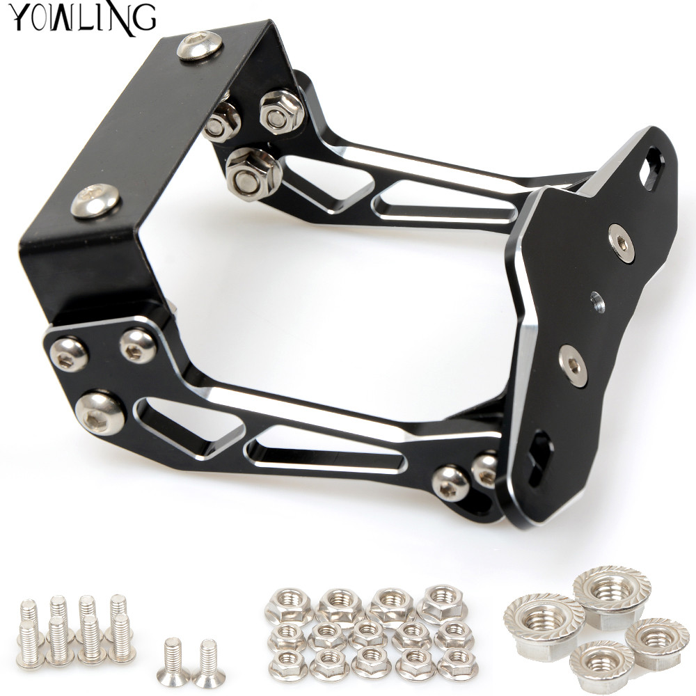For YAMAHA MT07 FZ07 MT 07 MT09 MT 09 MT-09 YZF R1 R6 R3 Fender Eliminator Registration Plate Bracket License Plate Holder Light motorcycle tail tidy fender eliminator registration license plate holder bracket led light for ducati panigale 899 free shipping