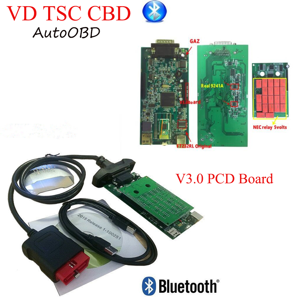 DHL 2018 V3 0 PCB Board scanner for delphis VD ds150e CDP Plus with nec relays