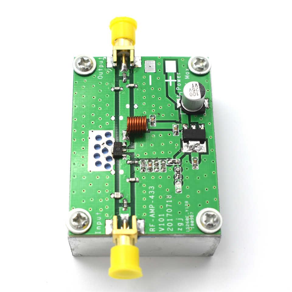 400-460MHz 433MHz 8W Power Amplifier Board RF HF High Frequency Amplifiers  SMA-k female Digital Power Amplificador G9-004