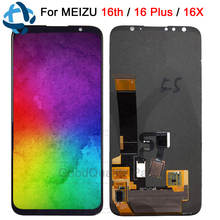 New Meizu 16 Plus LCD Display Touch Screen Digitizer Assembly For Meizu 16th LCD 16X Screen M882Q M8821H M872Q M872H Replacement