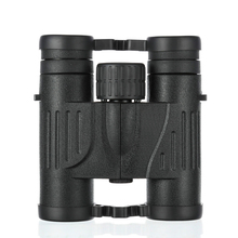 цена на Handheld 10x25 Binoculars Black HD Waterproof Wide Angle BAK4 Binocular Telescope Portable Outdoor Camping Hunting Tools