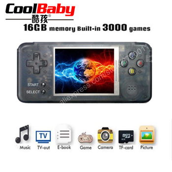 Retro Game Console Built-in 3000 Classic Games 64bit 16GB Multifunction Portable Handheld Game Player TV Output Best Gift