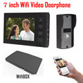 7 inch LCD 700TVL IR Camera Wireless WiFi IP Video Doorphone Video Intercom Doorbell Support IOS Android iPad Smart Phone Tablet