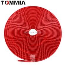 8 м красный автомобиль ступица отделка украшения полосы обод для ступицы колеса край Защитная Наклейка колеса анти-столкновения полосы шины край защита