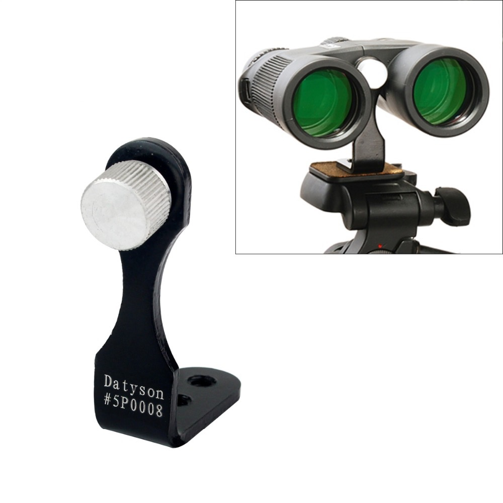 Precio de fábrica. Soporte de telescopio binocular totalmente metálico de alta calidad, dedicado L adaptador con conector de trípode