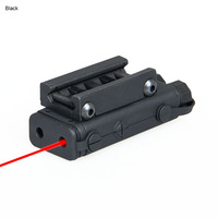 PPT Tactical Red Laser Sight Black Color PEQ 10 Laser Flashlight For Hunting Rifle gs20 0045