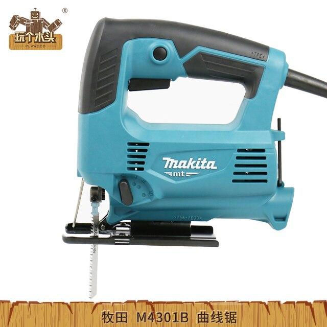 MAKITA electric curve saw cutting machine DIY M4301B manual wire saw ...