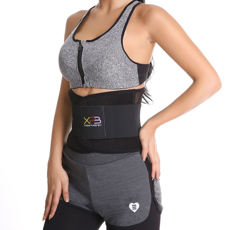 Waist Trainer Workout Tummy Trimmer Slimming Belt Neoprene Sweat Band Body Shaper Wrap Burn Fat Exercise For Weight Reduction image