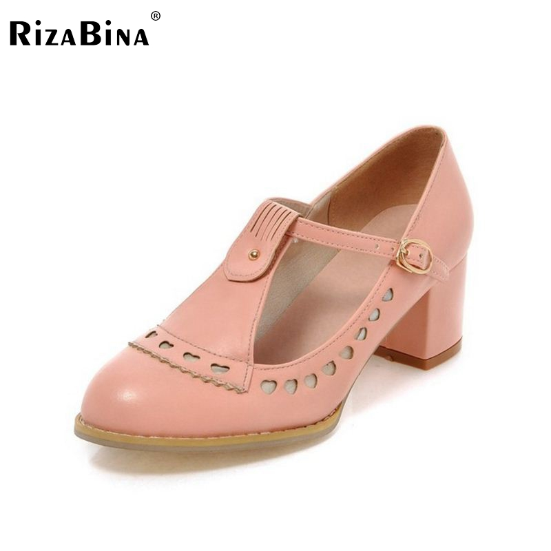 women high heel shoes pointed toe Zapatos Mujer quality footwear platform fashion heeled pumps heels shoes size 33-43 P17127 plus size 33 42 pointed toe genuine leather buckle mixed colors fashion casual high heel shoes platform high quality women pumps