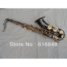 Wholesale Very good gift– Reference 54 tenor Drop B adjustment tenor saxophone Black Nickel the gold Musical Instruments