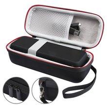 Для Anker SoundCore 2 чехол bluetooth Колонка автомобильная акустическая коробка аудио кабель Беспроводная переносная дорожная сумка переносная с сетчатым карманом