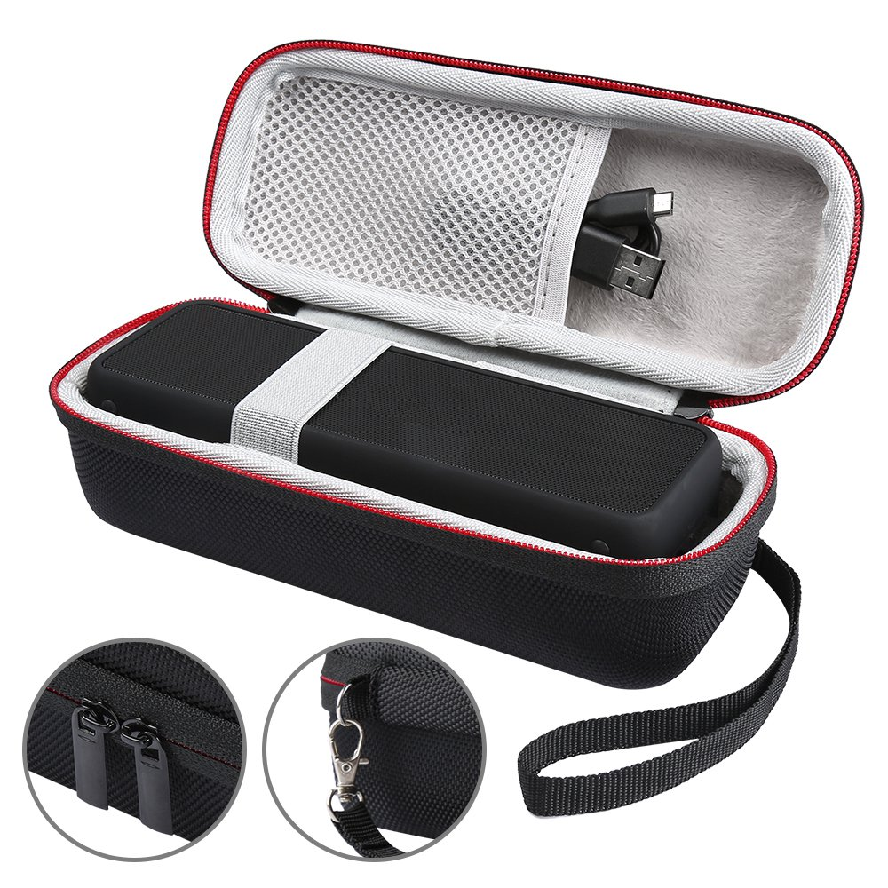 New Portable Wireless Bluetooth EVA Speaker Case For Anker SoundCore 2 With Mesh Dual Pocket Audio