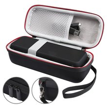 Wireless Bluetooth EVA Speaker Case Audio Cable Carrying Travel Bag New Portable  For Anker SoundCore 2 With Mesh Dual Pocket