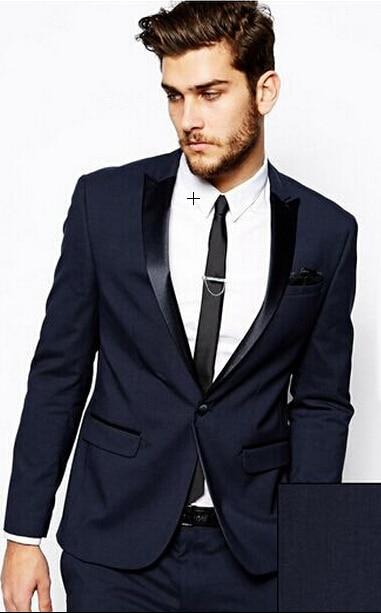Dark Blue Suit For Wedding - Ocodea.com