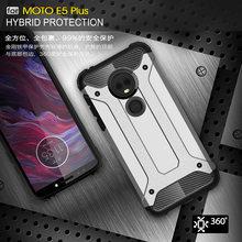 Darbeye dayanıklı Zırh Coque Kapak 5.99For Moto E5 Artı motorola kılıfı Moto E5 E Artı 5th Gen Telefon Arka Coque