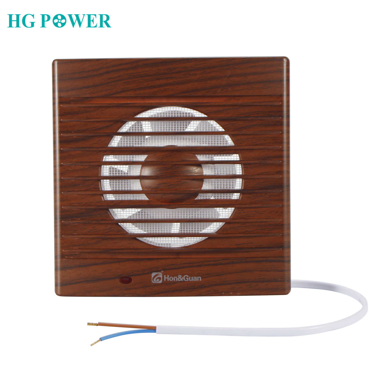 Ventilator Extractor Wall Mounted 14W 110V 4'' 6'' Silent Exhaust Fan Home Bathroom Kitchen Toilet Air Vent Grille Ventilation