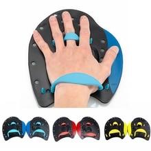 1 пара плавательных весла профессиональные плавательные штрихи практика коррекции регулируемые ручные перепончатые перчатки для взрослых детей