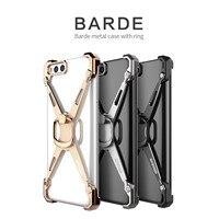 NILLKIN Barde Metalowa Obudowa Posiadaczem Pierścienia dla Xiaomi Mi 6 Back Cover dla Xiaomi MI6 M6 Pro Palec Pierścień Holder Case stopu Cynku Krawędzi