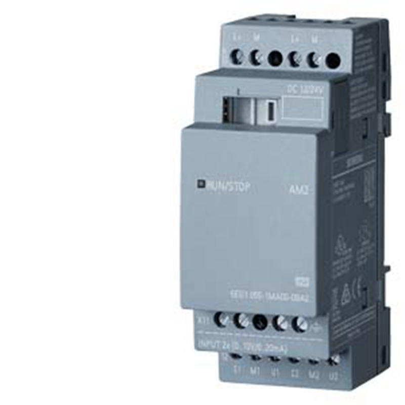Simatic 6ED1055 1MA00 0BA2 6ED1 055 1MA00 0BA2 LOGO Expansion Module 12 24 V DC 2