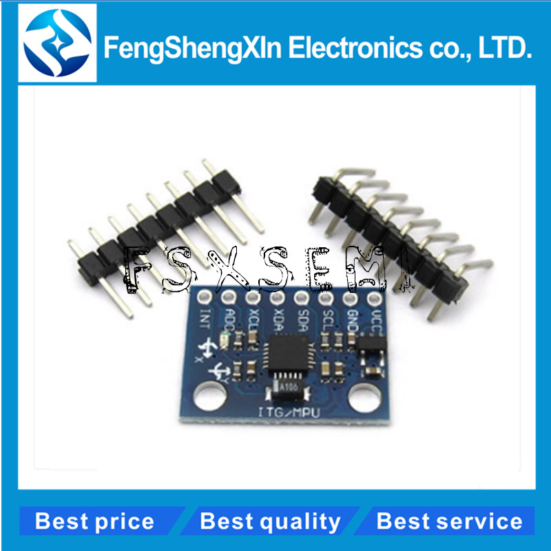 GY-521 MPU-6050 MPU6050 Module 3 Axis Analog Gyro Sensors+ 3 Axis Accelerometer Module Three Dimensional Angle Sensor