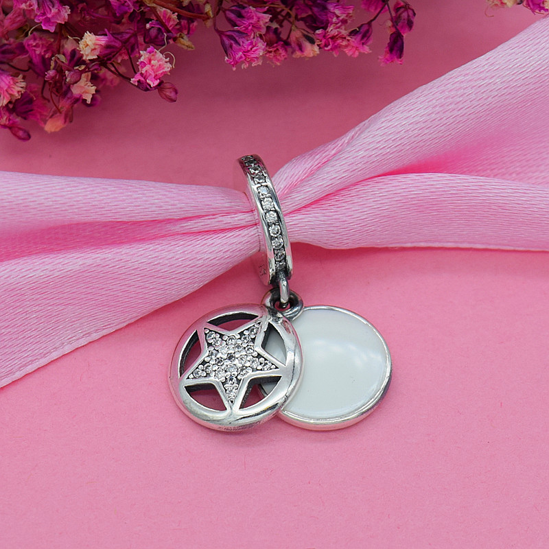 YANXIZAO 925 Zilver Hoge hakken Hartvorm Liefde Fit Pandora Armband - Mode-sieraden - Foto 3