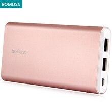 Новые gt1 10000 мАч romoss банк силы для мобильного телефона pad два usb литий-полимерный аккумулятор для мобильных телефонов, таблетки, MP3/MP4/GPS