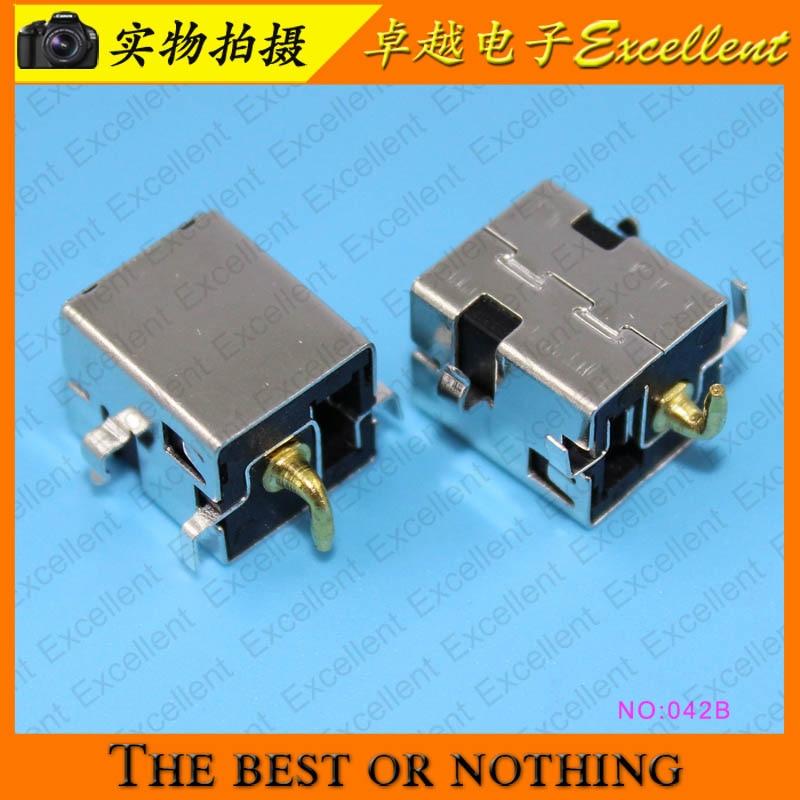 YuXi AC DC Power Jack Connector Plug Socket For Asus A52 A53 K52 K53 U52 X52 X54 X54C U52F Series 2.5mm pin 10X ac dc usb port jack plug socket connector pin for acer toshiba satellie m805d c660 c660d a300d a300 l450 l450d a215 h 6 3