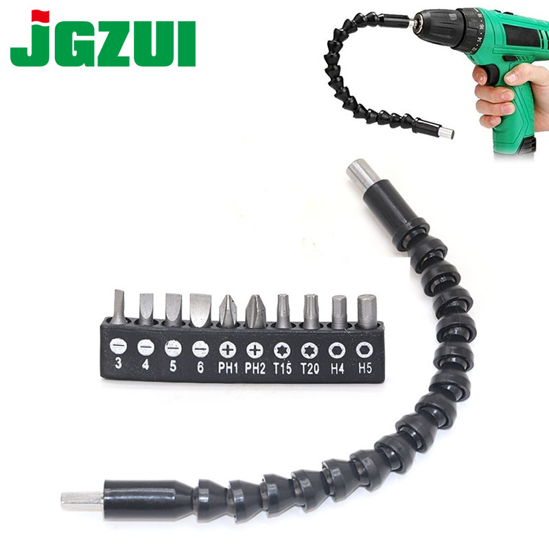 Cardan Flexible Shaft Drill Bits Extension Holder Socket Screwdriver Bit Kit Set