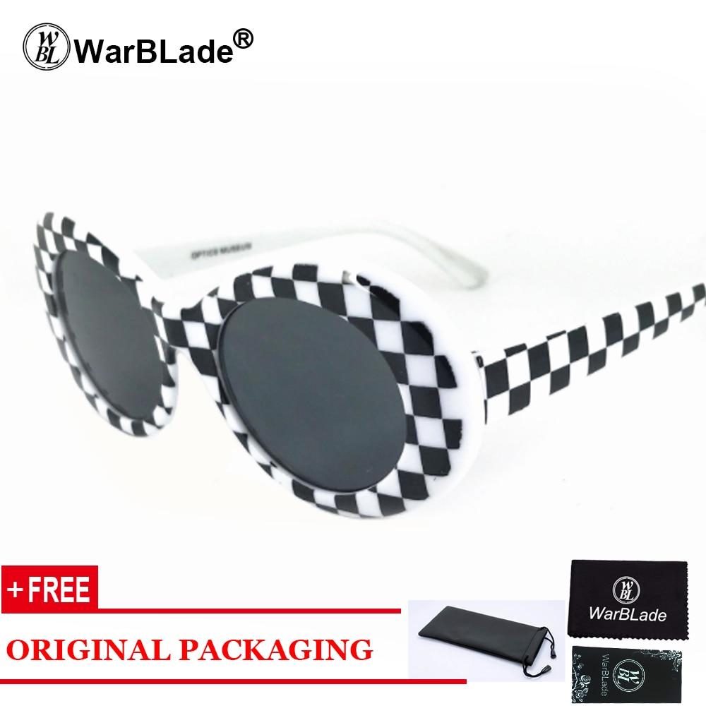 Goggles Kurt Coba Sunglasses Transparent Clear Lenses Glasses Vintage NIRVANE Oval Eyewear Fashion Classic Sun Glasses
