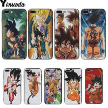 Yinuoda Dragonball Dragon Ball Z Sagas Kid Goku Coque Shell Telefoon Case Voor Iphone 5 5s 6s 6 7 8 Plus 8 X Xs xr Xsmax Cover Cases(China)