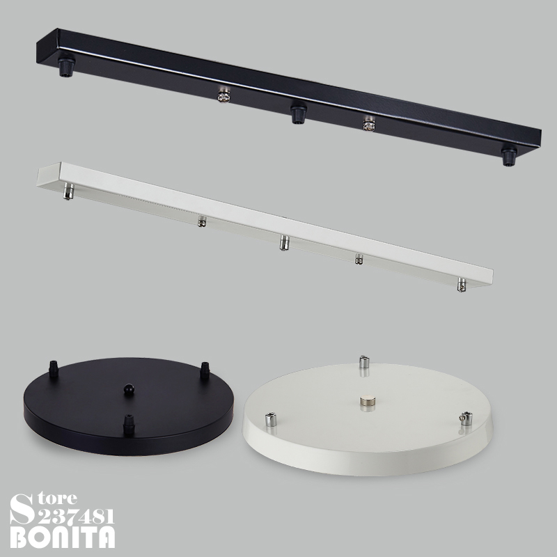 Ceiling Tray Ceiling Plate Ceiling Base Hang Up 3 Lamps