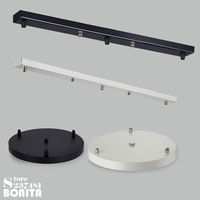 Ceiling Tray Ceiling Plate Ceiling Base hang up 3 lamps long tray round tray black white color